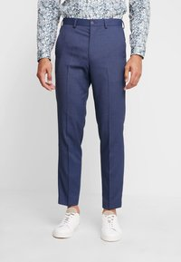 Isaac Dewhirst - STAND ALONE BIRDSEYE - Suit trousers - blue - 0