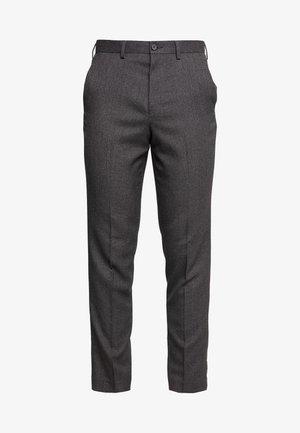 STAND ALONE TEXTURE - Kostymbyxor - grey