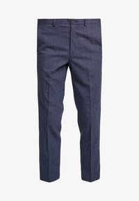 Isaac Dewhirst - SEMI PLAIN TROUSER - Trousers - navy - 4