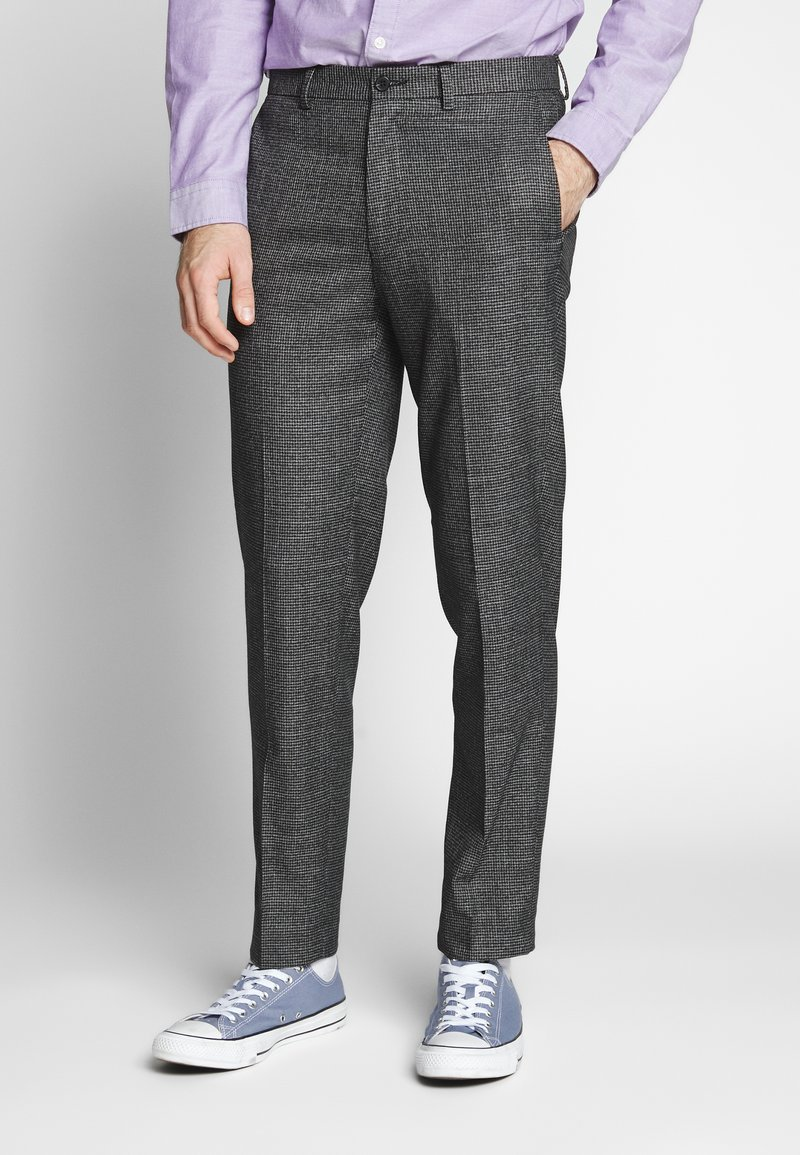 Isaac Dewhirst - PUPPYTOOTH TROUSER - Trousers - grey