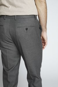 Isaac Dewhirst - FLANNEL PLAIN TROUSER - Trousers - grey - 5