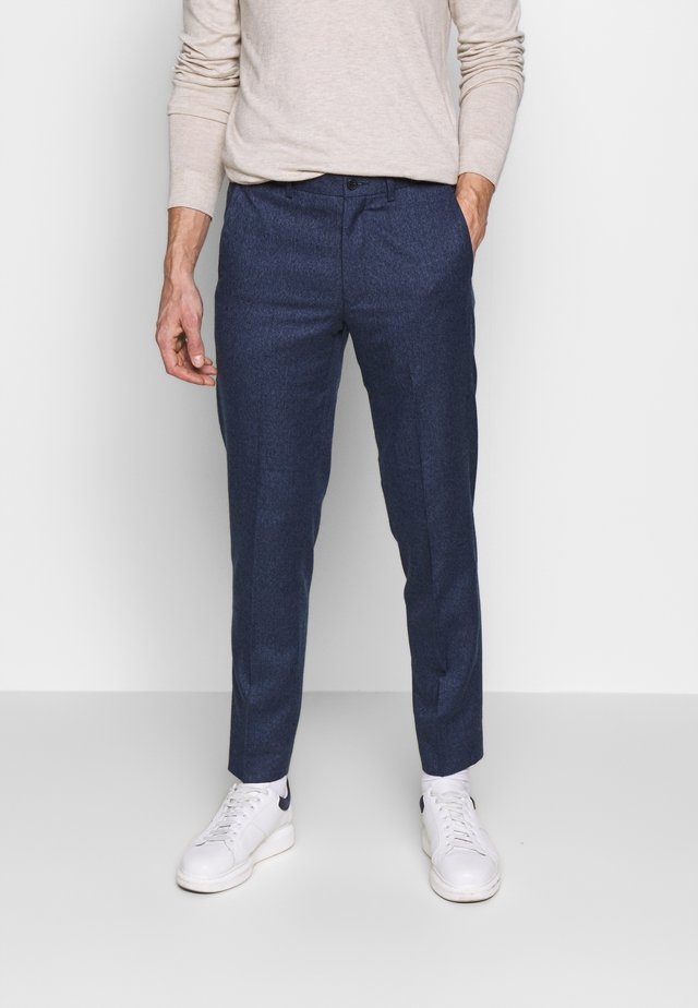 PLAIN TROUSER - Kangashousut - blue