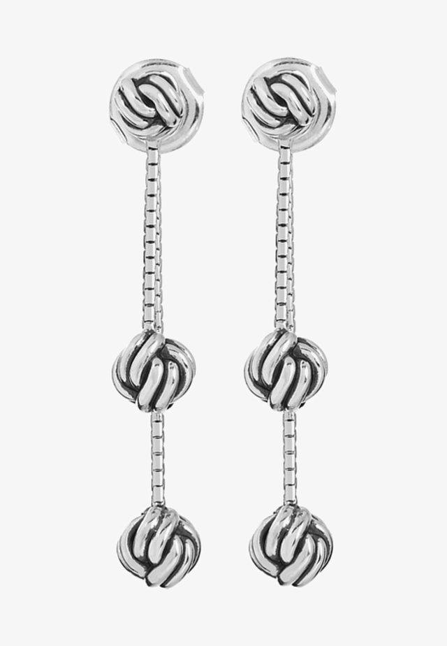Earrings - silver-coloured