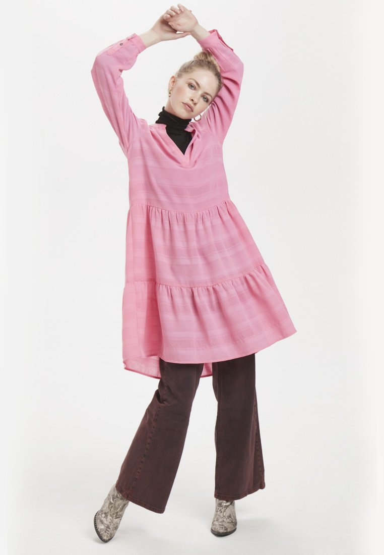 Denim Hunter - Day dress - pink