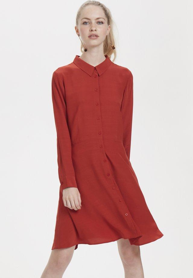 Shirt dress - ketchup