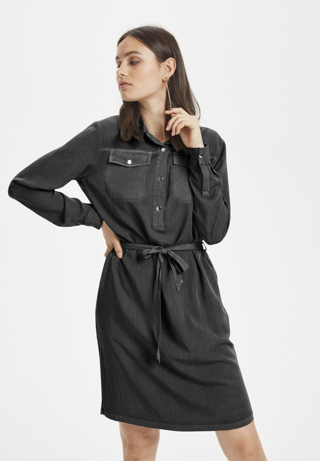 DHFIONA  - Denim dress - black