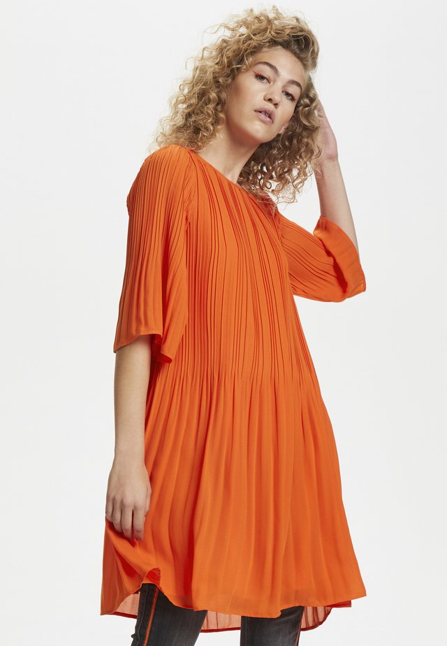 DHTULLE  - Korte jurk - red orange