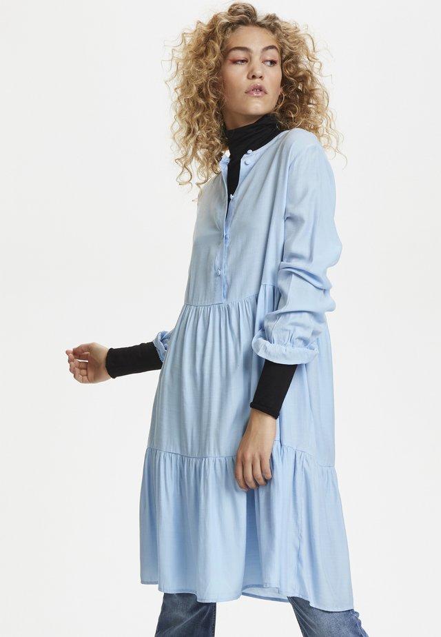 Day dress - cashmere blue