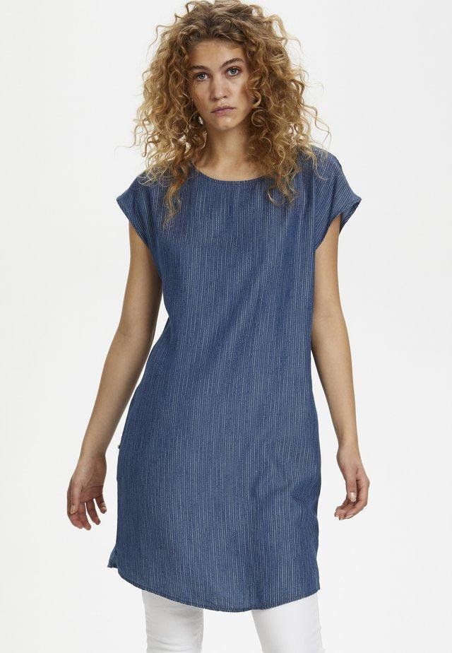 DHSØRINE ELMA - Sukienka letnia - blue/white