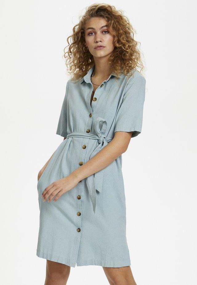DHMILLY - Shirt dress - lichen green
