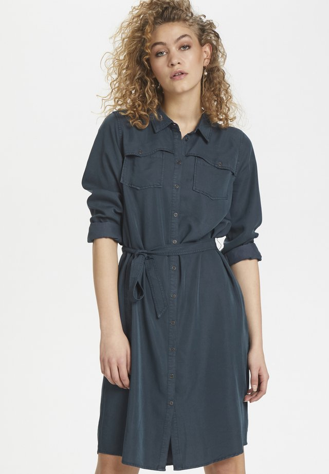 DHFIONA  - Shirt dress - dress blues