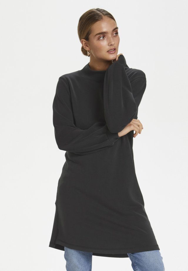 DHELLE  - Jersey dress - black