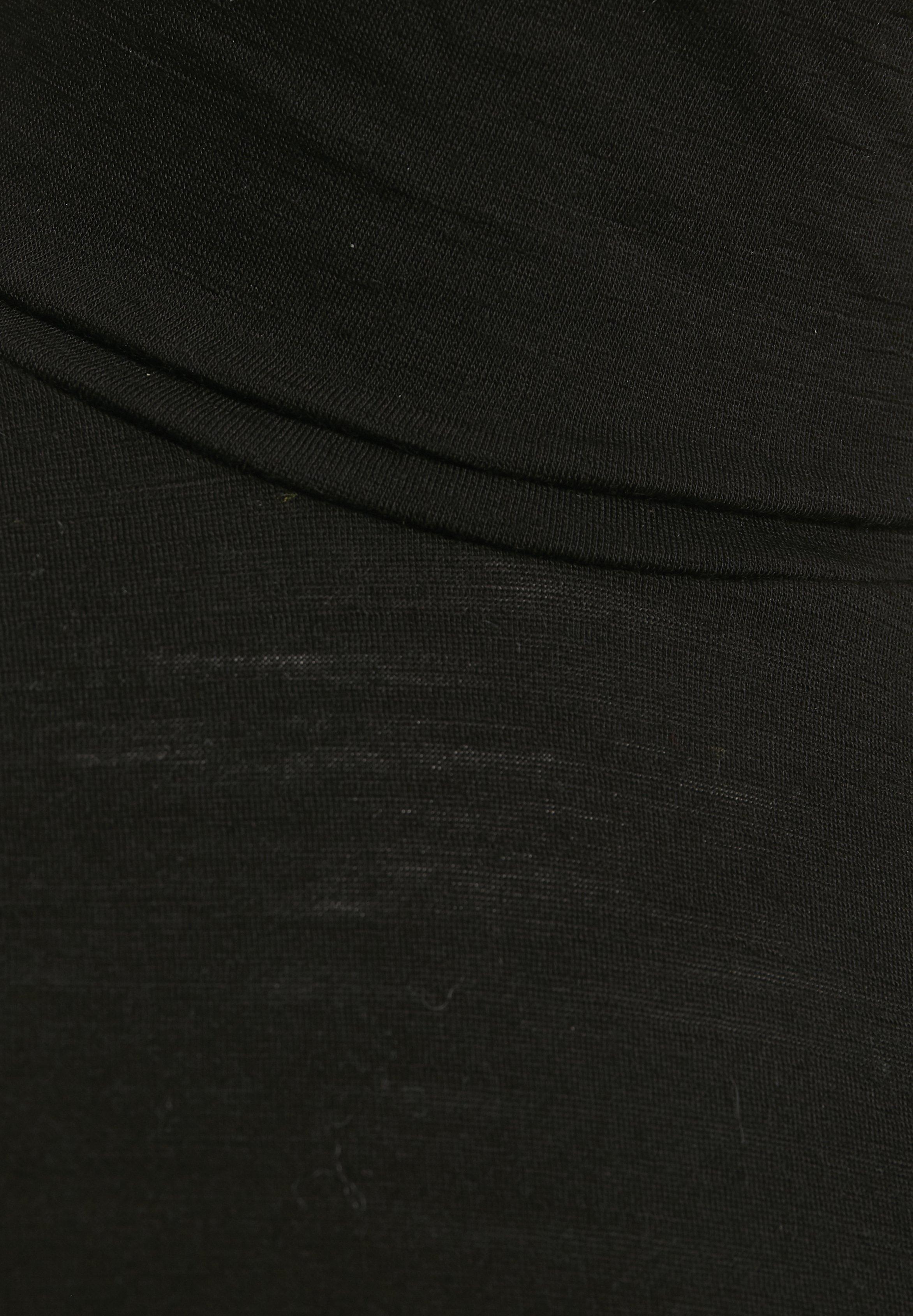 Denim Hunter Bluzka z długim rękawem - black