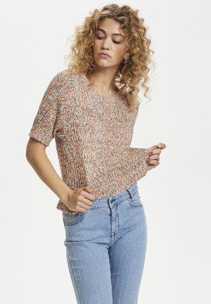 DHCAMBRIDGE  - Print T-shirt - seedpearl
