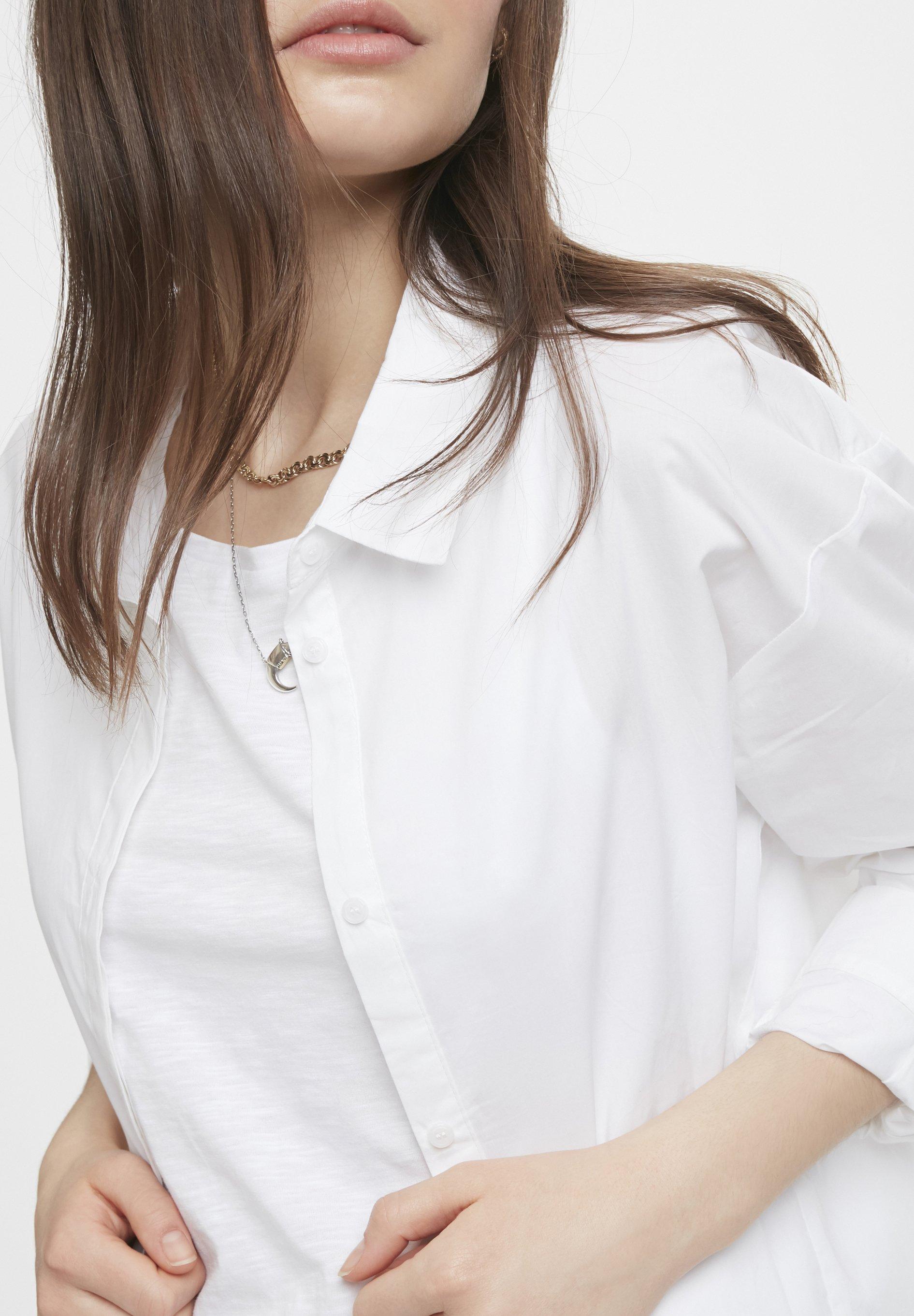 Denim Hunter Skjorta - Optical White