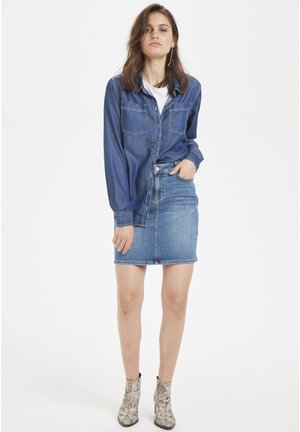 Overhemdblouse - denim blue