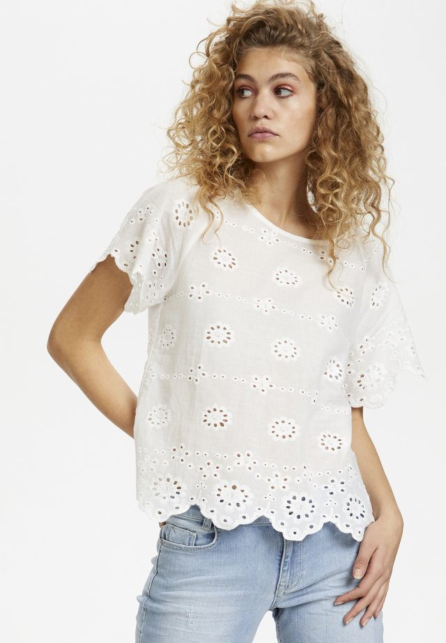 DHANGELA  - Bluse - optical white