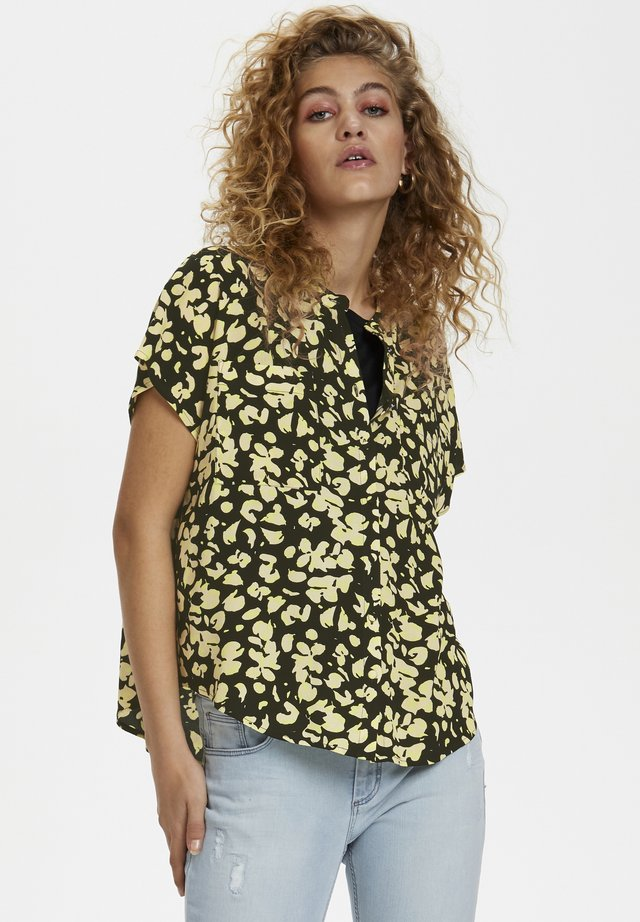 DHFELICIA  - Overhemdblouse - black /yellow
