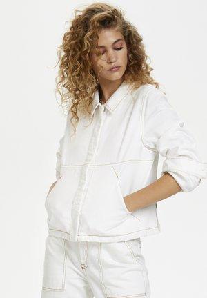 DHDINA  - Denim jacket - off white