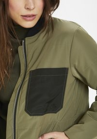 Denim Hunter - Bomber Jacket - dusty olive - 3