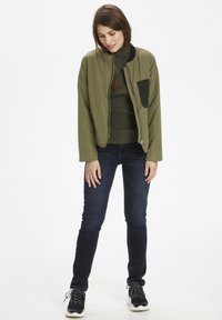 Denim Hunter - Bomber Jacket - dusty olive - 1