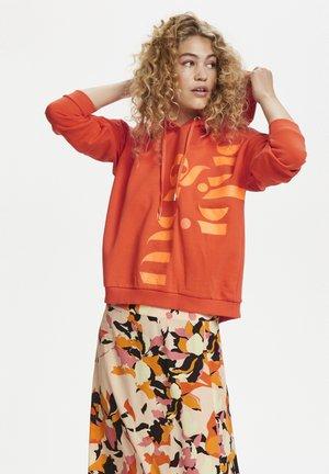 HUNTER - Bluza z kapturem - orange