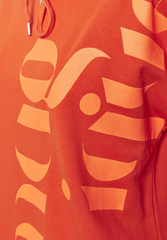 Denim Hunter Bluza z kapturem - orange
