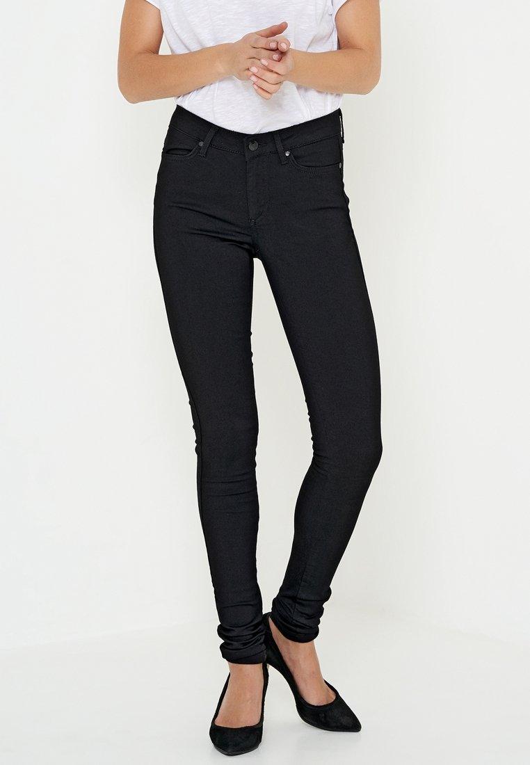 Denim Hunter - CEROL SLIM CUSTOM - Slim fit jeans - black