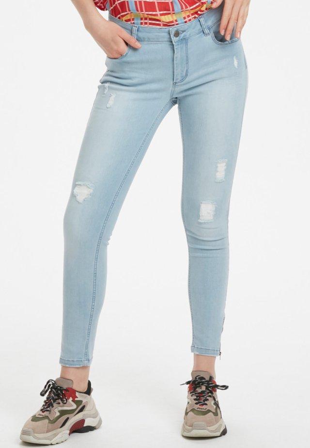 CELINA - Jeansy Skinny Fit - light blue