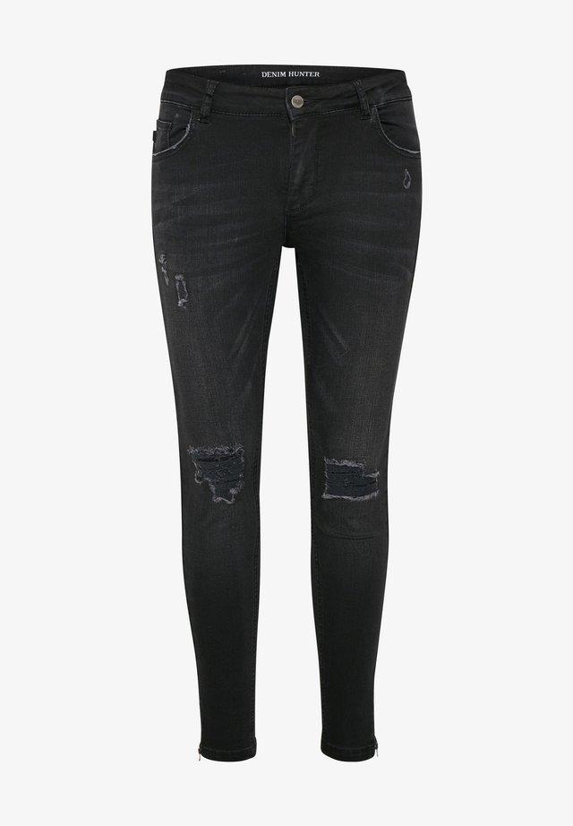 CELINA - Jeansy Skinny Fit - black washed