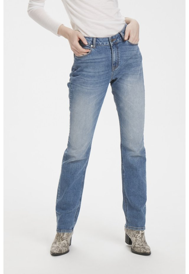 DHELLY - Straight leg jeans - light-blue