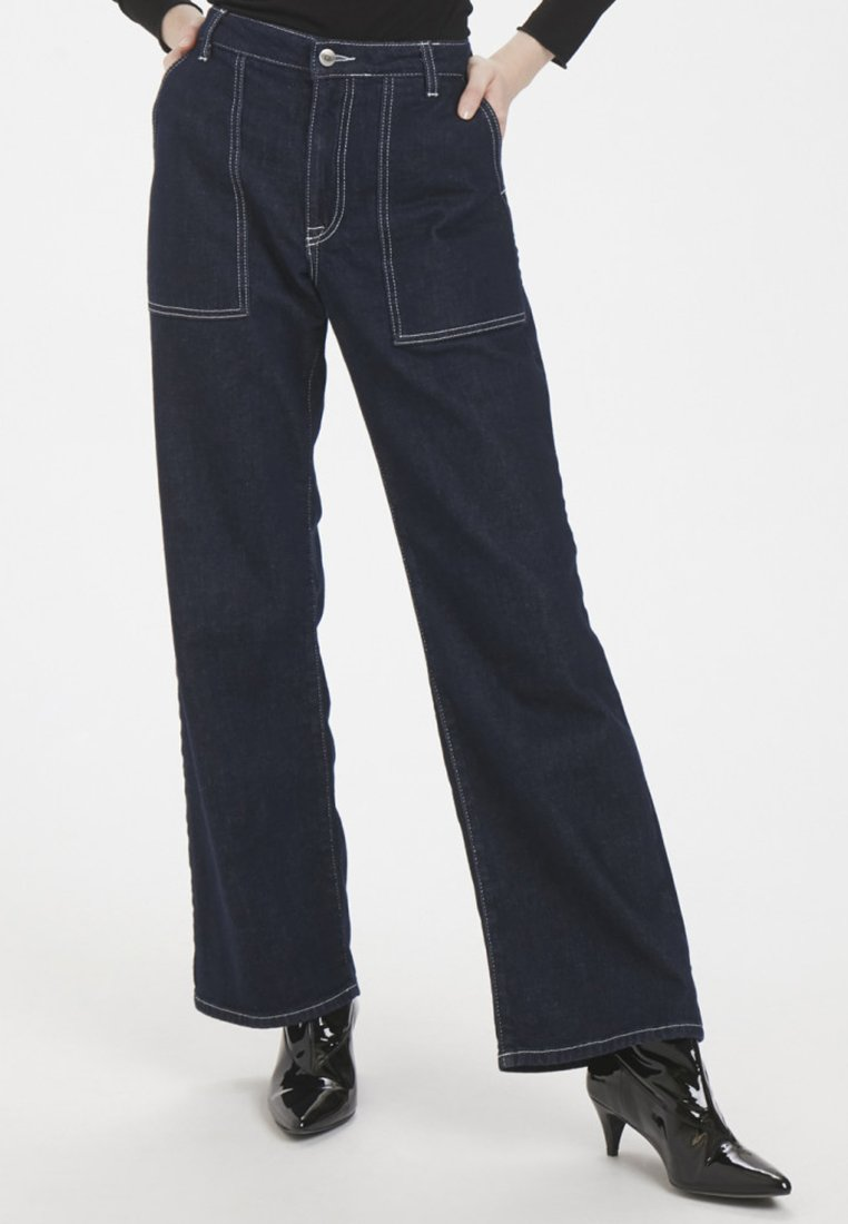 High Denim Flared Bootcut Hunter Blue Dhdina CustomJean BCedroxW