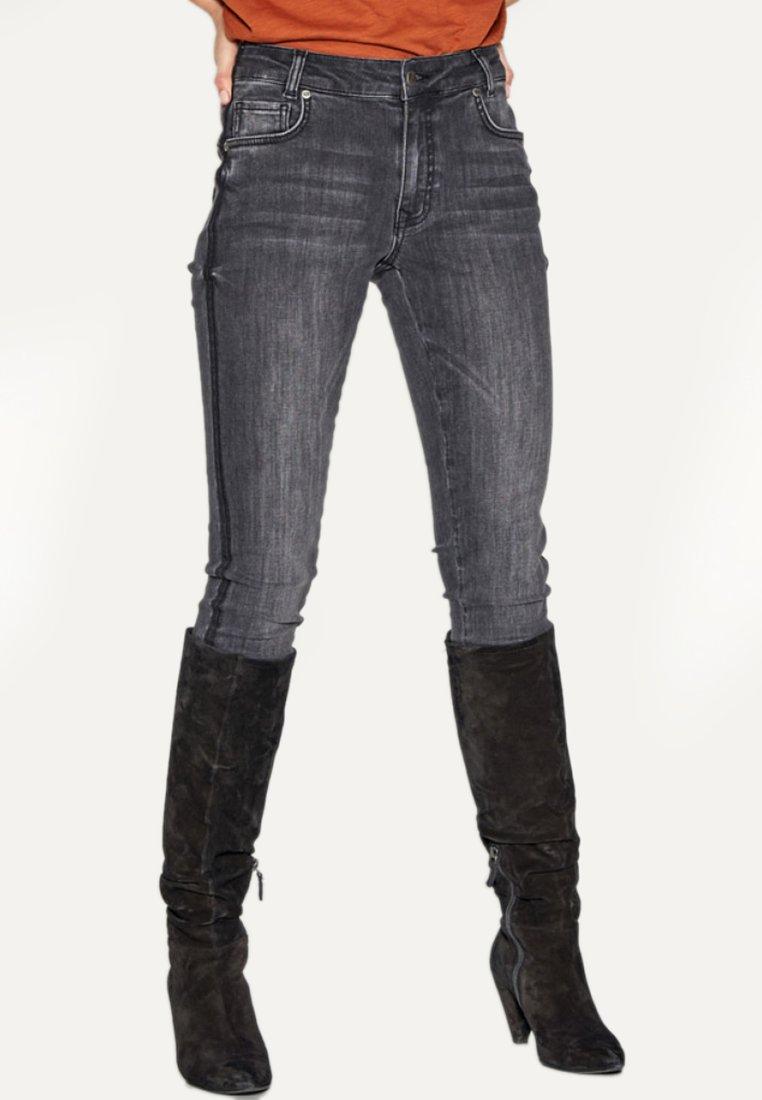Denim Hunter - Jean slim - light grey washed