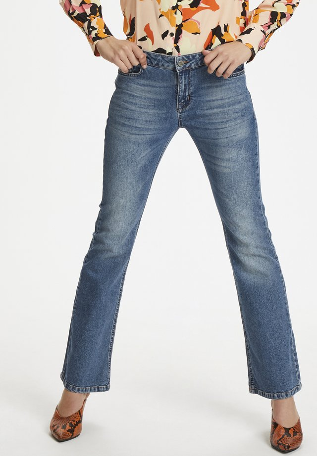 DHELLY\ - Jeans Bootcut - light-blue denim