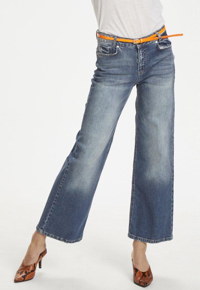 DHBELFAST  - Flared Jeans - light-blue denim