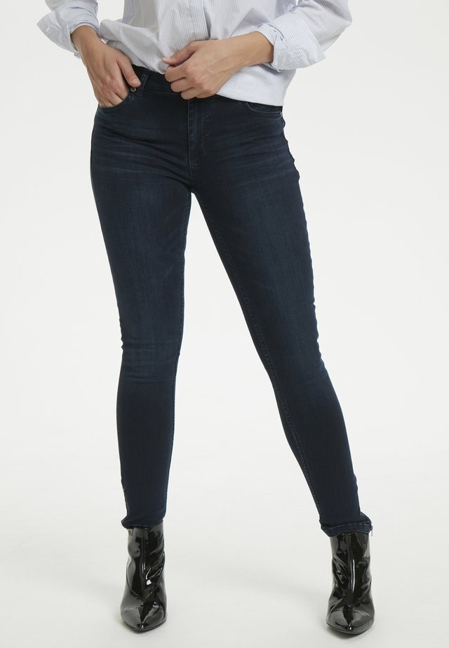 THE CELINAZIP CUSTOM - Jeans Skinny Fit - dark blue