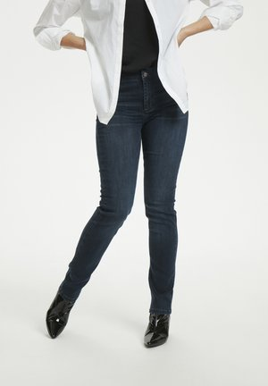 33 THE CELINA HIGH CUSTOM - Jeansy Straight Leg - dark blue