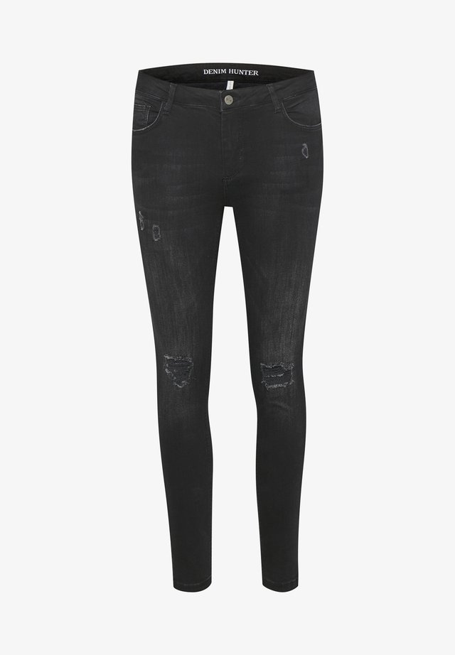 40 THE CELINAZIP TORN CUSTOM - Jeans Skinny Fit - black wash