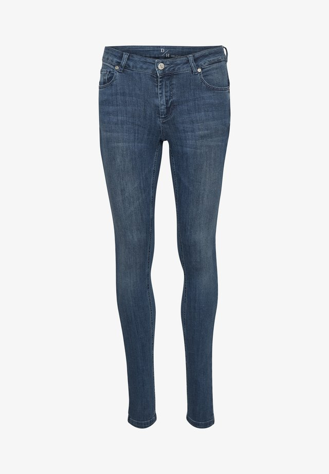 THE CELINA  - Jeansy Slim Fit - medium blue vintage wash
