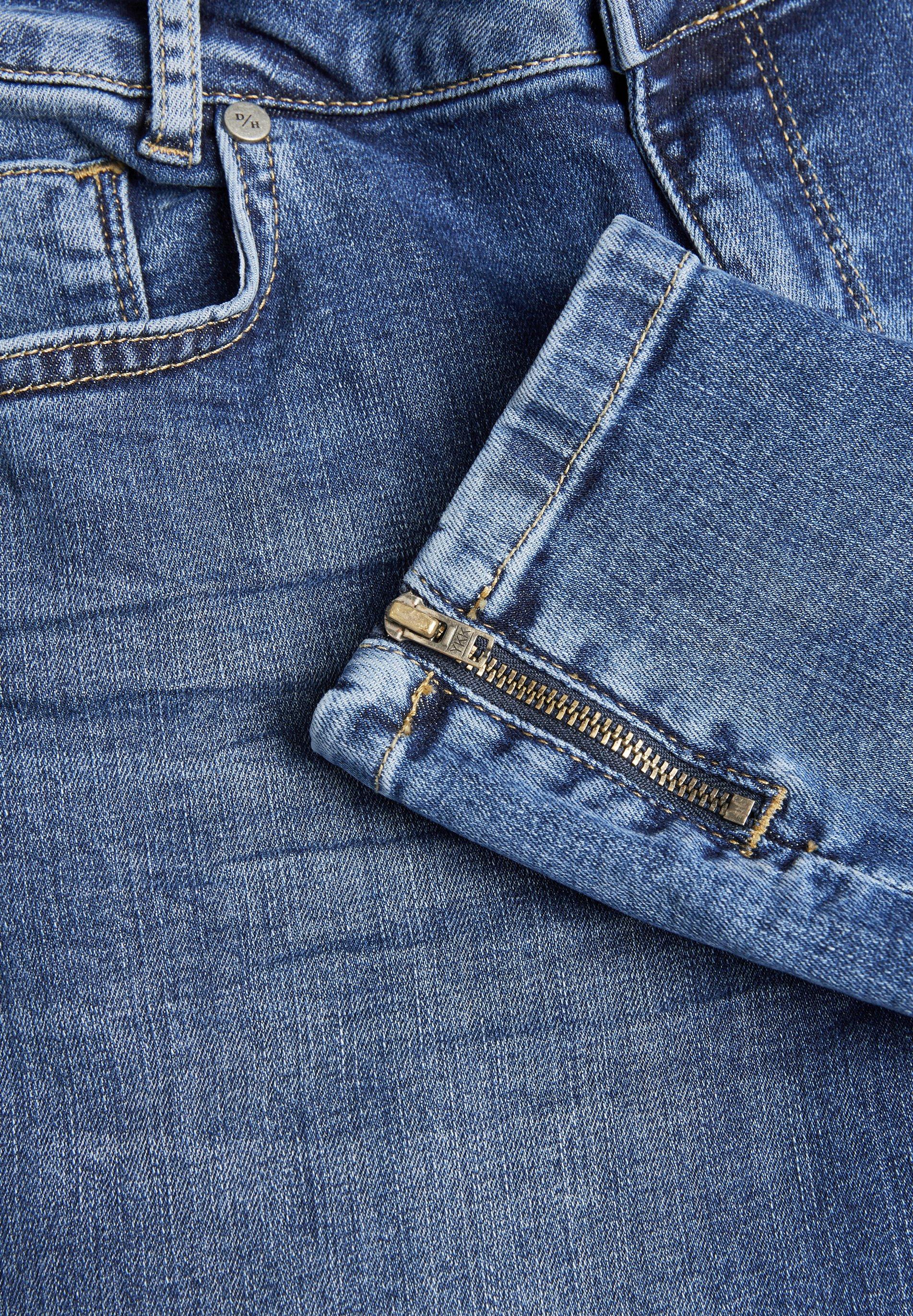 Denim Hunter 37 The Cillezip High Custom - Jeans Slim Fit Medium Blue Wash