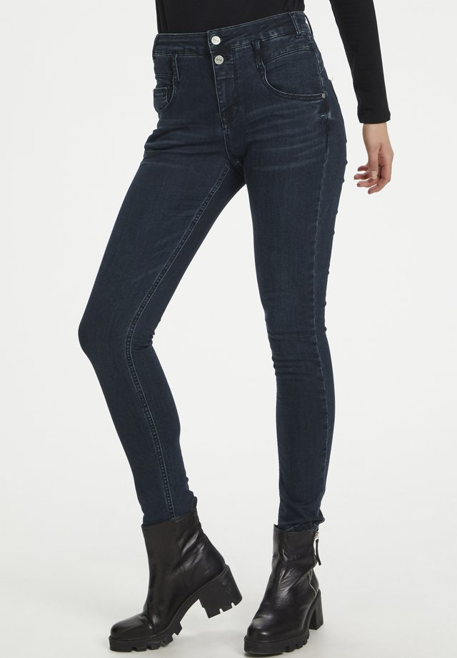 Jeansy Skinny Fit - dark blue wash