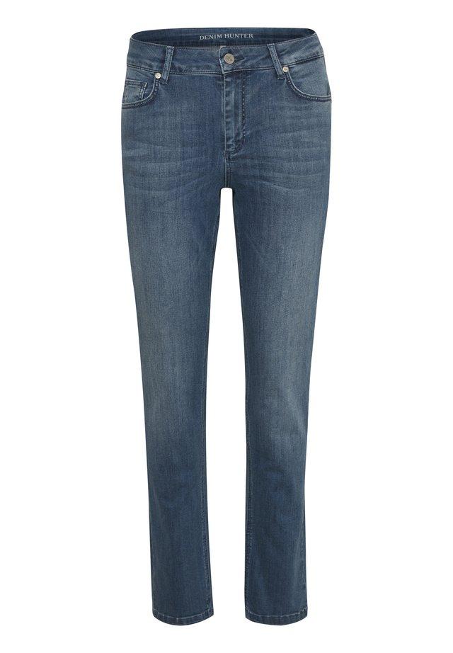 DHCELINA  - Jeansy Straight Leg - blue wash