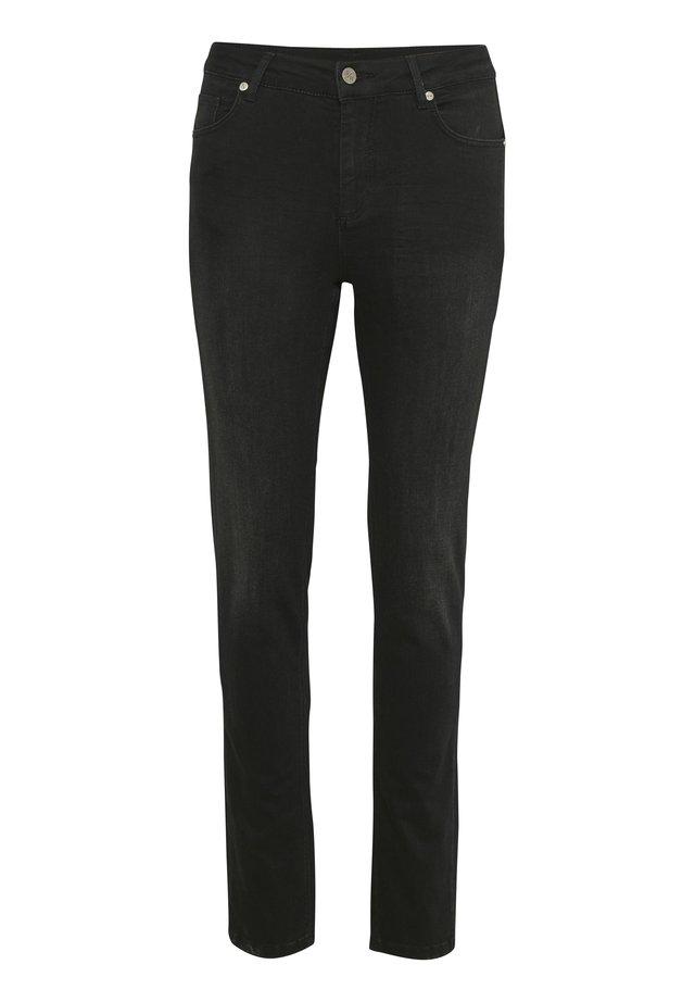 DHCELINA  - Jeansy Straight Leg - black washed