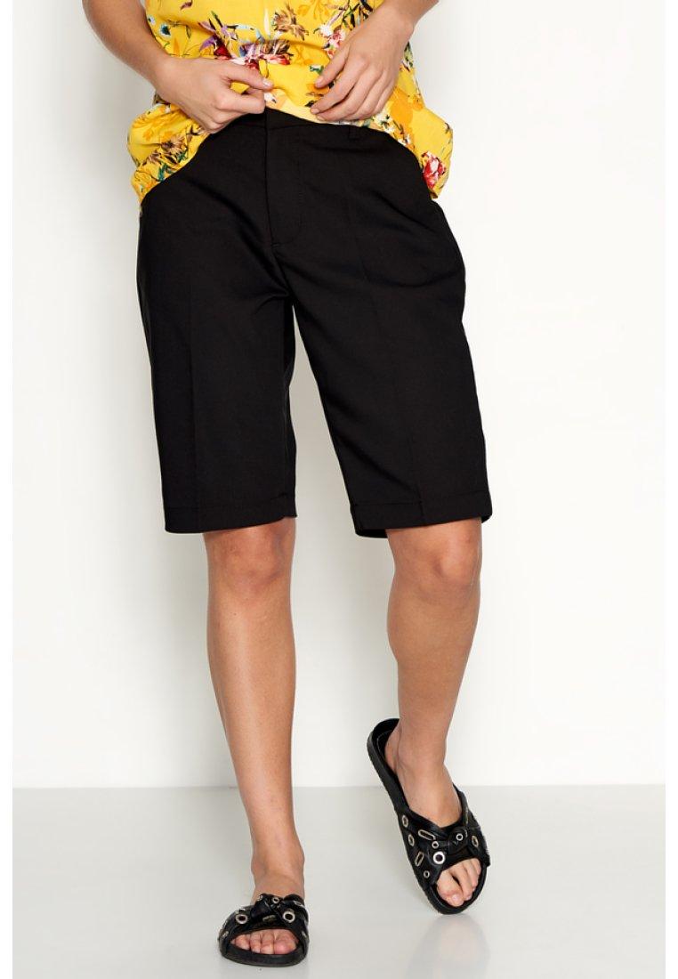 Denim Hunter - PAULA - Shorts - black