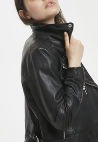 Denim Hunter - Leather jacket - black - 3