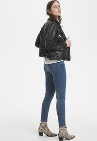 Denim Hunter - Leather jacket - black - 1