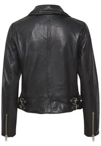 Denim Hunter - Leather jacket - black - 7