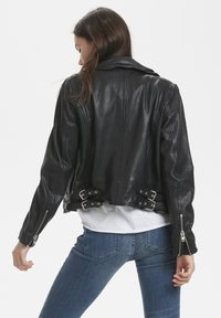 Denim Hunter - Leather jacket - black - 2