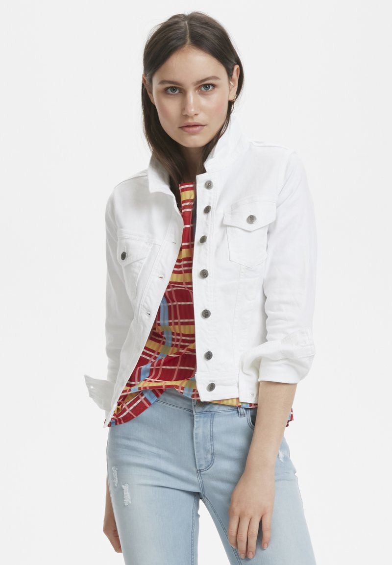 Denim Hunter - Denim jacket - white