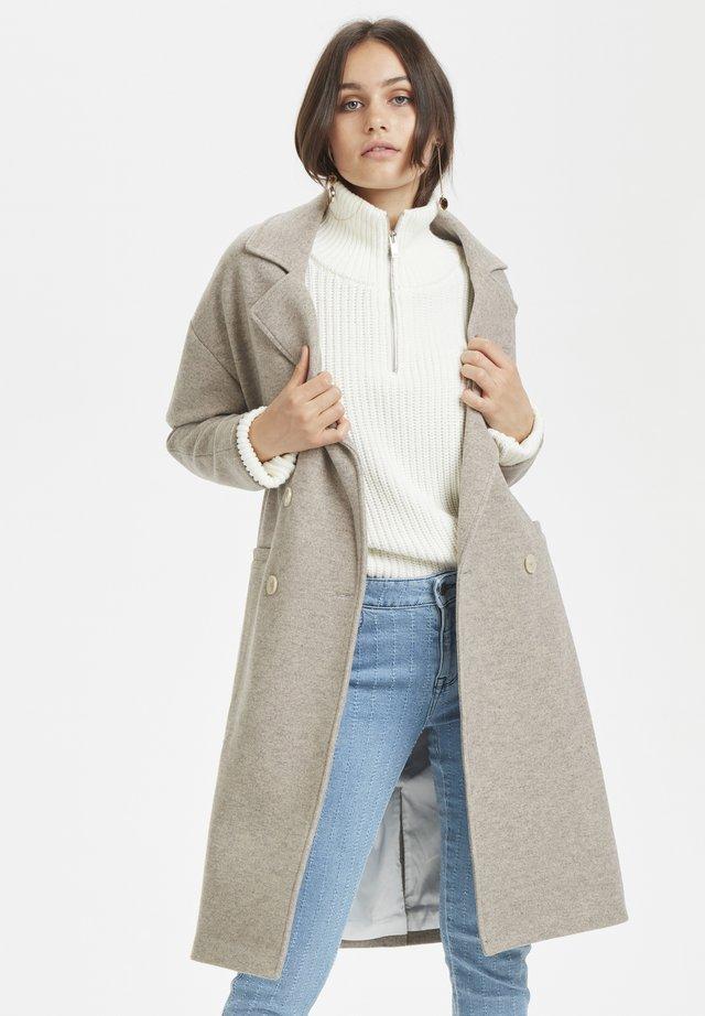 DHDINA  - Wollmantel/klassischer Mantel - beige